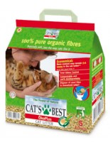 CAT`S BEST OKO PLUS, 10 L - постелка за котешка тоалетна -