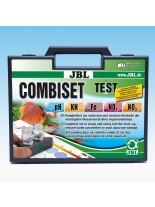 JBL Test Combi Set - мини куфарче с 5 теста измерващи основните 5 показатели на водата в аквариума - pH test 3,0-10,0, Fe test, KH test, No2 test, No3 test