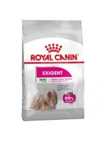 Royal Canin Mini Exigent - суха гранулирана храна за кучета от дребните породи  с много капризен апетит (над 10 месеца) - 1 кг.