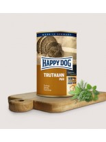 HAPPY DOG - Truthahn Pur - Консерва 100% пуешко месо - без соя, растителни добавки, оцветители или консерванти - 0.200 кг.