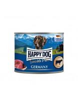 HAPPY DOG - Rind Pur - Консерва 100% говеждо месо - без соя, растителни добавки, оцветители или консерванти - 0.200 кг.