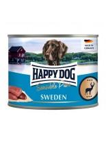 HAPPY DOG - Wild Pur - Консерва 100% месо от елен - без соя, растителни добавки, оцветители или консерванти - 0.400 кг.