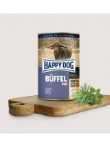 HAPPY DOG - Biffel Pur - Консерва 100% месо от бивол - без соя, растителни добавки, оцветители или консерванти - 0.800 кг.