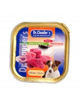 Dr. Clauder's - Selected Meat Geflugel - /Pre Biotics/- с пиле- 100 гр.