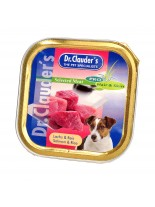 Dr. Clauder's - Meat Pro Hair Skin Salmon Rice - сьомга и ориз за кученца с проблемна кожа и козина - 100 гр.