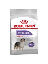 Royal Canin Medium Sterilised Adult –  суха гранулирана храна за кастрирани кучета от средните породи със склонност към затлъстяване (над 12 месеца) - 12 кг. наднормено тегло
