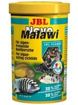JBL NovoMalawi - Основна балансирана суха храна за растителноядни африкански цихлиди от езерата Малави и Танганайка  - 250 ml.