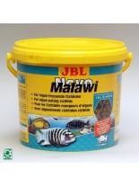 JBL NovoMalawi - професионална храна за растителноядни африкански цихлиди от езерата Малави и Танганайка на люспи - 5,5л.