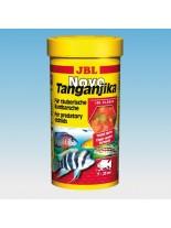 JBL NovoTanganyika - Основна балансирана суха храна за растителноядни африкански цихлиди от езерата Танганайка  и Малави - 250 ml.