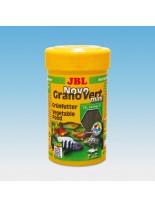 JBL NovoGranoVert mini - всекидневна храна за малки аквариумни растителноядни рибки - гранули - 100 ml.
