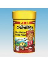 JBL NovoGranoMix mini - всекидневна храна за аквариумни малки рибки - гранули микс 100 ml.