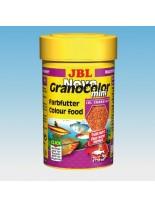 JBL NovoGranoColor mini - всекидневна храна за аквариумни рибки за подсилване на цветовете - гранули - 250 ml.