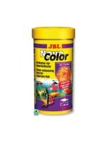 JBL NovoColor  - Храна за подсилване на цветовете на декоративните рибки на люспи  - 100мл.