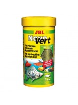 JBL NovoVert -  всекидневна храна за аквариумни рибки Спирулина на люспи, съдържащи планктон  - 250 ml.