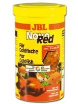 JBL Novo Red - основна балансирана храна на люспи за златни рибки и други езерни риби - 1 л.