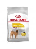 Royal Canin Medium Dermaconfort  – суха гранулирана храна за красива козина, за кучета от средни породи над  1 година - 10 кг.