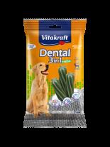 Vitakraft Dental 3in1 Fresh Medium - дентални солети за кучета над 10 кг. с три активни съставки - 7 бр. - 180 гр.