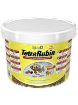 Tetra Rubin - Универсална храна с естествени съставки подсилващи яркостта на цветовете на аквариумните рибки -  10000 ml.