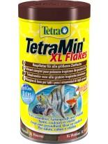 TetraMin Flakes XL - Универсална, основна храна на люспи за всички видове аквариумни рибки - 1000 мл.