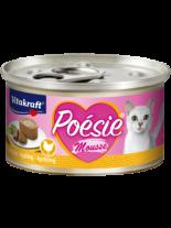 Vitakraft POESIE Mousse - Консерви за котки над 1 година с пилешко месо - 85 гр.