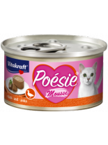 Vitakraft POESIE Mousse - Консерви за котки над 1 година с месо от патица - 85 гр.