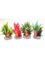 Sydeco - Amfora Large - Изкуствено аквариумно растение -11 см.