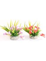 Sydeco - Gala Lily - Изкуствено аквариумно растение -9 см.