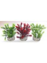 Sydeco - Jungle Small- Изкуствено аквариумно - 15 см. - различни цветове