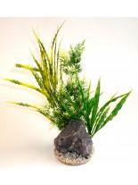 Sydeco - Aquaplant Rock XL - Изкуствено аквариумно растение - 32 см.