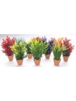 Sydeco - Aquaplant Small in pot - Изкуствено аквариумно растение - 18 см.