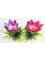 Sydeco - Lotus Flower - Изкуствено аквариумно растение - 18 см.