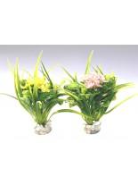 Sydeco - Blooming Flower - Изкуствено аквариумно растение -15 см.