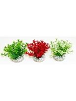Sydeco - Nano Flowering Bush - Изкуствено аквариумно растение - 10 см.