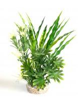 Sydeco - Fiesta Aqua Bush - Изкуствено аквариумно растение - 24 см.