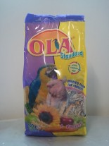 Ola Standard Vitamins Complete food for parosts, 800 гр. - пълноценна храна за средни папагали