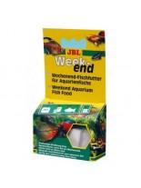 JBL Weekend - Основна балансирана суха храна за рибки 4 разтворими блокчета всяко разтварящо се за  3 дни - 26 gr