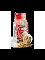 Versele Laga Prestige Snack Parakeets - допълваща деликатесна храна (снакс) за средни папагали с плодове и яйца - 125 гр. - нов код 422259
