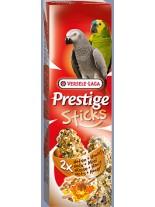 Versele Laga  Prestige Sticks nuts&Honey  - крекери за големи папагали  с мед и ядки 2 бр. по 70 гр.