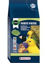 Versele Laga  Forti Patee - Отлично балансирана всекидневна суха храна за дребни папагали, канари и дрбни екзотични птици с мед и сушени плодове - 0,250 кг. - нов код 424169