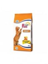 Fun Cat Meat 27/10 - суха, гранулирана храна за котки в зряла възраст с пилехко месо - 20 кг.