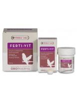 Versele Laga Ferti Vit - комплекс от витамини, аминокиселини и микроелементи за подготовка на птиците за развъждане и пеене - 25 гр.