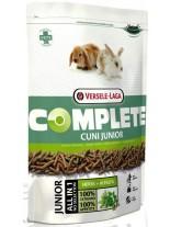 Versele Laga Cuni Junior Complete - пълноценна екструдирана храна за подрастващи зайци до 8 месеца - 0,500 кг.