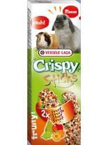 Versele Laga  Crispy Sticks fruity - крекер с плодове за декоративни зайчета и морски свинчета - 2 броя по 55 гр.