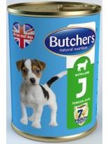 Butchers Life Junior with lamb -високо качествена храна за кученца от 1 до 6 месеца с агнешко месо - 0.400 кг.