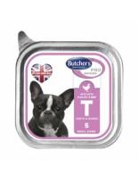 Butchers Pro series T with poultry and beef - високо качествен пастет за кучета от мини породите до 10 кг. с пилешко и говеждо месо - 0.150 кг.