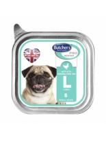 Butchers Pro series L with chicken pate - високо качествен пастет за кучета от мини породите до 10 кг. с пилешко месо - 0.150 кг.