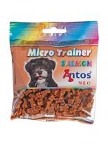 Antos - Micro Trainer - меко лакомство за тренировка със сьомга - 70 гр.