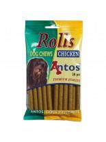 Antos - Rolls - меки солети за тренировка с пиле - 20 бр. - 200 гр.