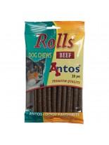 Antos - Rolls - меки солети за тренировка с говеждо - 20 бр. - 200 гр.