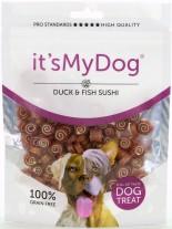 Its My Dog Sushi Duck & Fish Grain Free - неустоимо лакомство за кучета - суши патица и риба - без зърно - 85 гр.